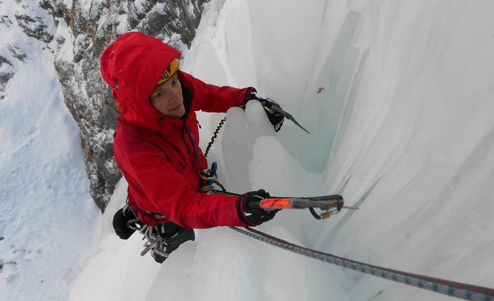 Klettergurt Eisklettern : Eisklettern am eistbach u sac saas