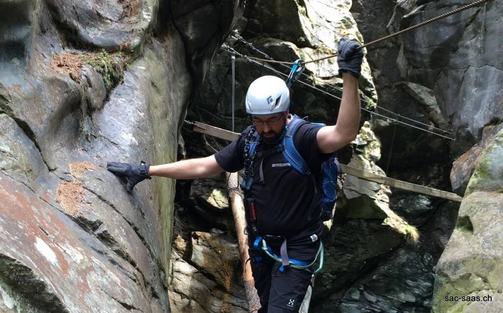 Klettersteigset Montieren : 12.06.16 gornergorge zermatt u2013 sac saas