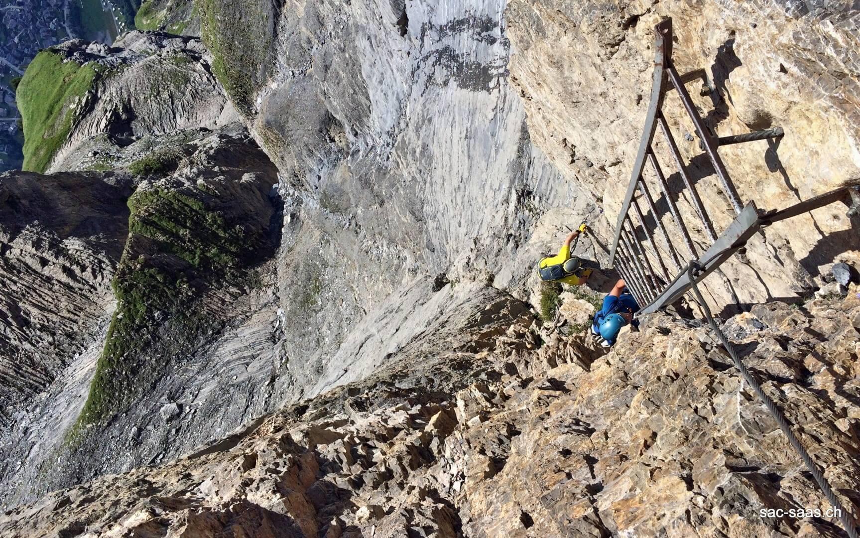 Klettersteig Daubenhorn : 01.08.2017 klettersteig daubenhorn u2013 sac saas
